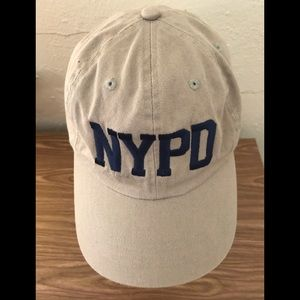 NYPD Baseball Cap Hat Fits All